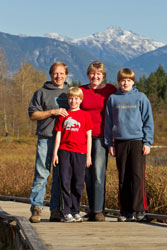The Rohdes - Your hosts at the Cedar Springs B+B, Whistler BC
